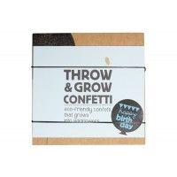 Throw & grow confetti.