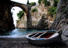 Fiordo di Furore, Amalfi Coast, Italy.