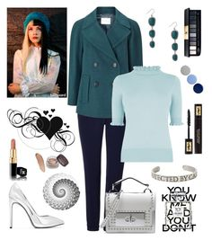 """""""Unbenannt #202"""" by majalina123 on Polyvore featuring Mode, Marella, Yves Saint Laurent, Marc Jacobs, Lucky Brand, Windsmoor, Oasis, Chanel und Burberry"""