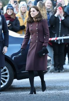 Kate Middleton's Latest Addition to Her Coat Collection Might Be the Best 1 Yet