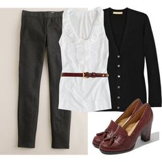 nice work outfit but with more color