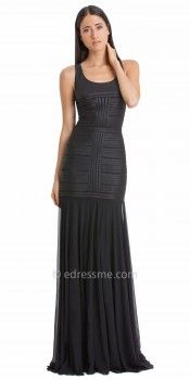 Bandage Trumpet Evening Dress by JS Collections