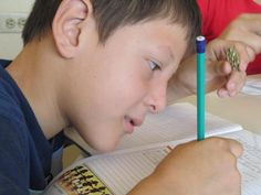 Honduras: Sponsored child Nelson writes a letter to thank his sponsor for the small statue he's holding.