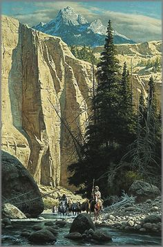 Frank C. McCarthy - Along the West Fork