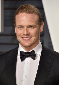 HQ pics of Caitriona Balfeand Sam Heughan at the Vanity Fair Oscar After Party