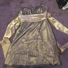 Dress Party dress worn once. Size 11/12 Masquerade Dresses Midi