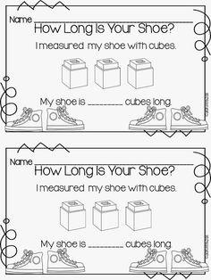 A Little Bit of AMSTI and some freebies! - The Daily Alphabet Nonstandard Measurement, Measurement Kindergarten, Kindergarten Math Games, Measurement Activities, Preschool Math, Teaching Math, Math Activities, Preschool Ideas, Teaching Ideas