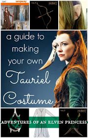 The Adventures of An Elven Princess: A Guide to Making Your Own Tauriel Costume. EXCELLENT info and pattern reference