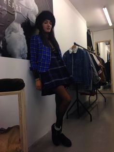 How to wear Tartan and Leopard print together at our shop at BoxPark ,unit 11 ,London