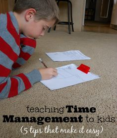 Ways to Start Teaching Time Management for Kids Time management for kids.Time management for kids. Positive Parenting Solutions, Parenting Advice, Kids And Parenting, Parenting Classes, Foster Parenting, Stress, Teaching Time, Teaching Ideas, Kids Education