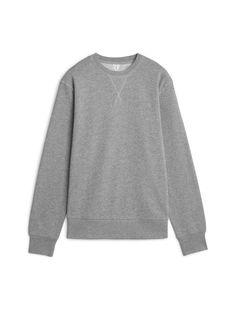 280e0f897c5 French Terry Sweatshirt - Grey Melange - Sweatshirts   Hoodies
