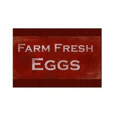 Shop Rustic Style Fresh Eggs Sign created by ChickenTown. Custom Yard Signs, Corrugated Plastic, Rustic Style, Eggs, Fresh, Make It Yourself, Prints, Design, Egg