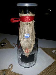 Anchor vase to do a raffle