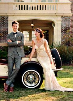 Art Deco wedding inspiration | Elizabeth Messina photography for Seattle Met Bride & Groom