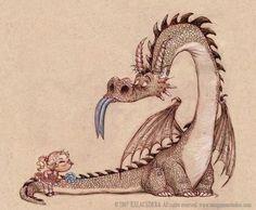 Pinzellades al món: Il·lustracions de la princesa, el drac i el cavaller / Ilustraciones de la princesa, el dragón y el caballero / Illustrations of the princess, the dragon and the knight (1)