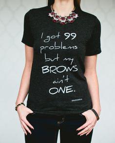 Arch Addicts #brows #eyebrows #ootd #tshirts