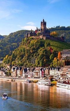 Get up close with Cochem, Germany.