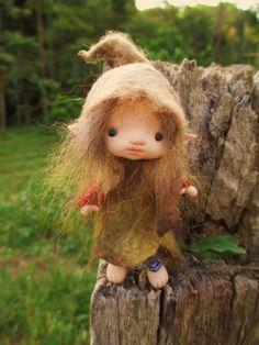 sweet tiny ooak posable 4 inch fairy fairie by throughthemagicdoor
