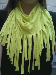 Home made scarf (: