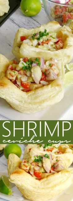 Look no further than these Shrimp Ceviche Cups for a perfect springtime or summer appetizer! They're easy to make and full of fresh flavor!