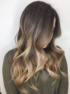 Sweet & Stylish Soft Ombre Hairstyle 2017 Bronde Balayage For Brown Hair