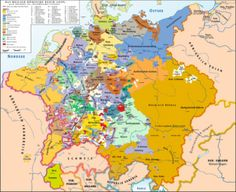 Map Of Germany Some Swedish Chunks In The North Like Bremen Most Of Hungary After Germany Split Up Into Seperate States