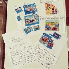 Chapeau papa... qui a terminé sans moi la lettre au Père Noël avec notre mini de 3 ans ! #goodjob #superpapa #mamaninlove #lettreauperenoel #noel #cadeaux #enfant #3ans #beautravaildequipe