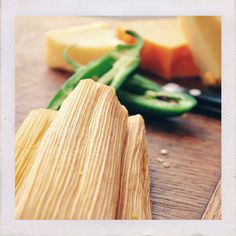 Dozen Cheese + Jalapeño Tamales The simples things are so often the best. The pairing of three cheeses + jalapeños + bell peppers + lard free masa is beyond perfection. You cant eat just one! *contain