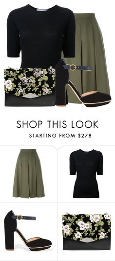 """#350"" by deboramarilla ❤ liked on Polyvore featuring Alexander McQueen, Dion Lee, Rupert Sanderson and Rochas"