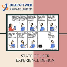 User experience design often loses sight of the actual user.  When sites optimize so much for the behaviour that it wants to influence next (collecting an email address, moving people into a funnel), the reason that people come to the site in the first place can get overlooked (or buried under pop-ups).  Looking for proper website optimization? Here we are :   📞 9158170055 📧 contact@bharatiweb.in ℹ️ www.bharatiweb.in Website Optimization, Internet Marketing Company, User Experience Design, Email Address, Behavior, Branding, Pop, Creative, Internet Marketing Firm