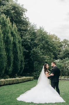Black and gold opulent wedding | ElegantWedding.ca Wedding Proposals, Wedding Couples, Black And Gold Invitations, Field Wedding, Outdoor Wedding Photography, Toronto Wedding, Blush Roses, Floral Centerpieces, Elegant Wedding