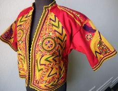 Amazing Hand Embroidered Rajastani Indian Wedding jacket