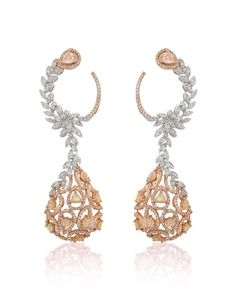 Diamond Solitaire Earrings H I – Modern Jewelry Jewelry Tree, High Jewelry, Jewelry Sets, Jewelry Necklaces, Jewelry Making, Gold Diamond Earrings, Diamond Jewelry, Gold Jewelry, Stud Earrings