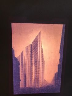 "a0073996846aa4 Mies Van Der Rohe ""1921 Office Project"" Modern Architecture 35mm Art Slide"
