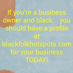 If you're a business owner and black... you should have a profile at bfhsnetwork.com/main/authorization/signUp?target=http%3A%2F%2Fbfhsnetwork.com%2F%3Fxgi%3D24eplpCFYfYmqZ%26xgkc%3D1&utm_content=buffer3da7f&utm_medium=social&utm_source=pinterest.com&utm_campaign=buffer for your business TODAY!  #blackbiz #blackbusiness #urbanevents #supportblackbusiness #blackwallstreet #teamBFHS #powernomics #supportblackbiz #sbbtv #notonedime #blackfriday #blackbusinessmatters #blackdollars #buyblackmovement…