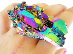 This ring would be too big for me, but I love all the colors here!