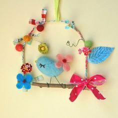 Leuk om te maken op een kinderfeestje, vogelkooitje