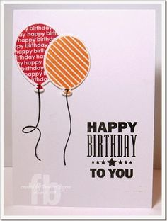 card balloons balloon Birthday Wishes MFT Die-namics #mftstamps