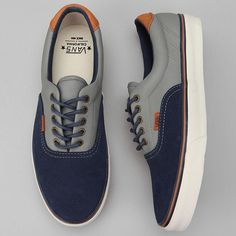Vans Era 59 blocked suede sneaker.
