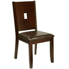 American Lifestyles 'Lakeside' Espresso Side Chairs (Set of 2) | Overstock.com Shopping - Great Deals on Dining Chairs  $133