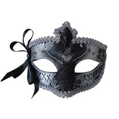 Silver and Black Mardi Gras Eye Mask Adult Halloween Accessory  walmart.com