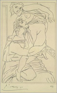 See Pablo Picasso's Spare, Tender Illustrations For a Limited Edition of Aristophanes' Lysistrata (1934)