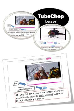 FREE •TubeChop allows you to easily chop a funny or interesting section from any YouTube video and share it  •This lesson contains screen shots and instructions to help teachers and students use this free website.