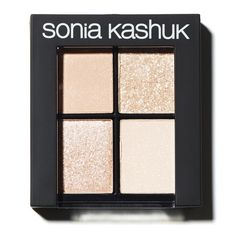Getting glammed up is as easy as 1, 2, 3 or 4 with this Sonia Kashuk bronzed eye shadow quad—wear it a number of ways by playing with different combinations, from soft and fresh to sexy and dramatic.