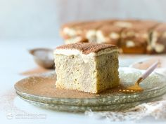 Low-Carb Tiramisu Poke Cake