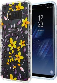 Milk and Honey Multi Floral Clear Case for Samsung Galaxy S8+