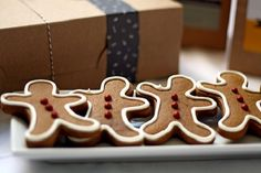 Gingerbread Cookies (from Baking for Good)