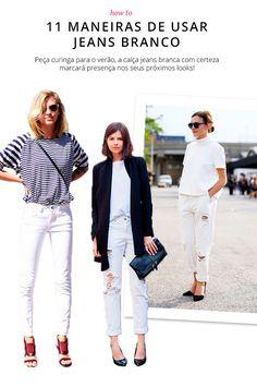 looks jeans branco