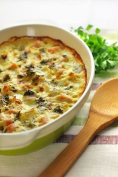 Healthy And Tasty Baked Dish: Chicken Spinach Cauliflower Casserole