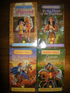 Song of the Lioness series Tamora Pierce